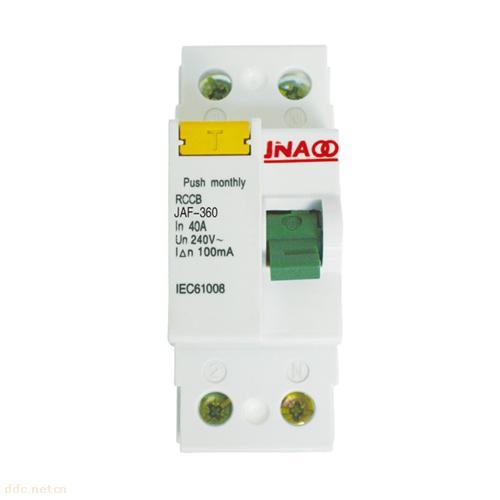 京奥JAF360型剩余电流动作断路器