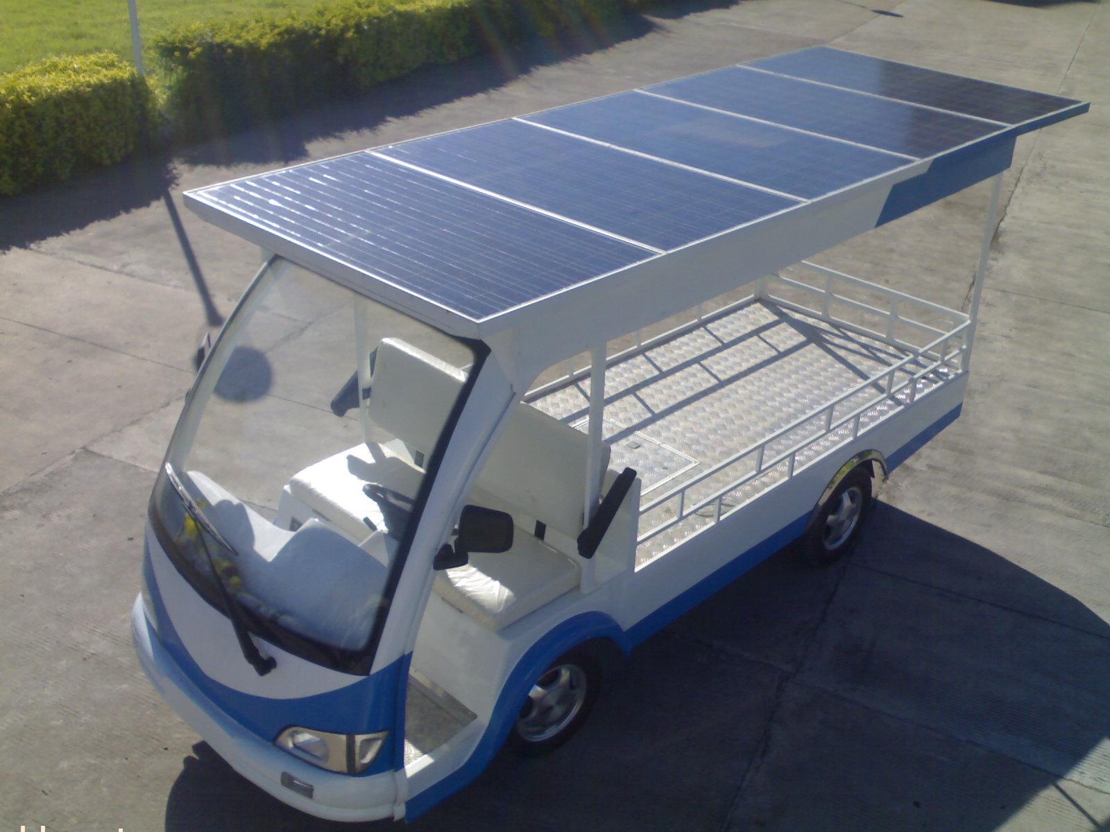 光伏太阳能电瓶货车