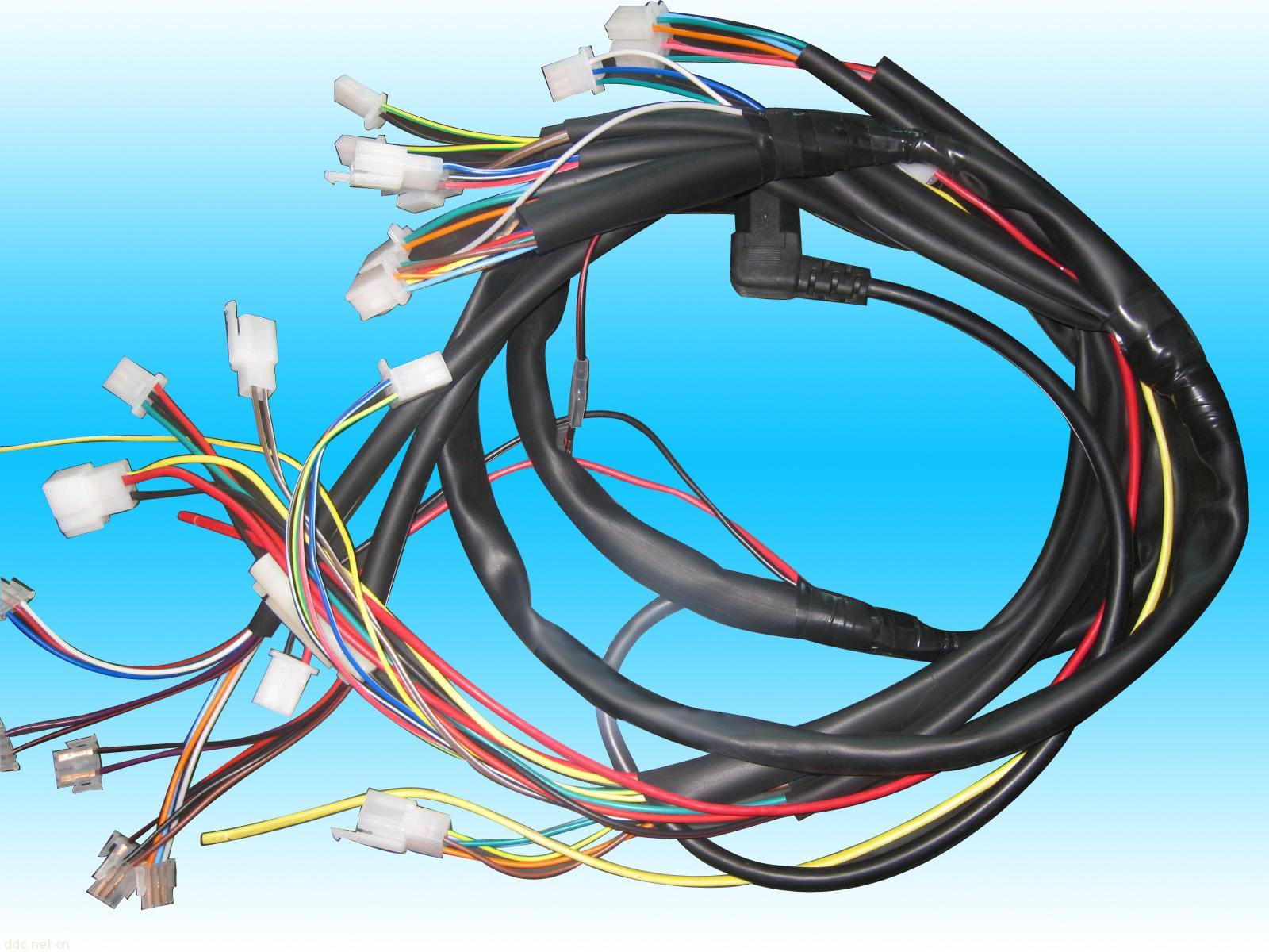 镇江电源线,电动车电源线,电源线,线束,电动车配件