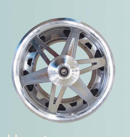 钢质轮毂 适用范围 所有电动车电机 直径 205(mm) 用途 电动车轮毂摩