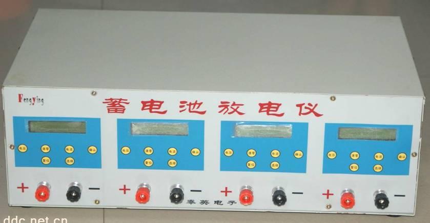 本系统采用原装进口芯片,结合现代先进的微电子技术,为电动车蓄电池量身定做的放电容量检测系统。它调试、维护简单且工作可靠,性价比极高。采用进口2×16背光LCD显示屏显示,各项参数显示直观,是传统蓄电池放电容量检测系统无法比拟的。适合蓄电池生产商、批发商以及维修单位和个人使用。 基本电气规格及特点 1、采用2×16背光LCD显示设定终止电压、设定放电电流、实际放电电压、实际放电电流、放电累计时间等参数。并具有放电时间、设置终止电压、放电设置电流记忆功能 2、可同时对4组12V/7-2