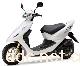 广东喜洋洋豪华款白色电动摩托车
