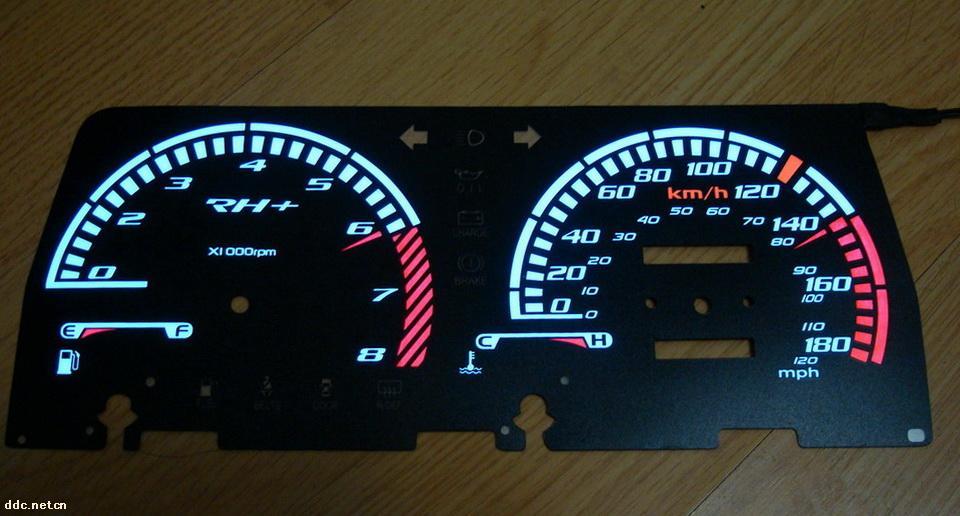 冷光仪表盘,电动车仪表盘,发光仪表盘