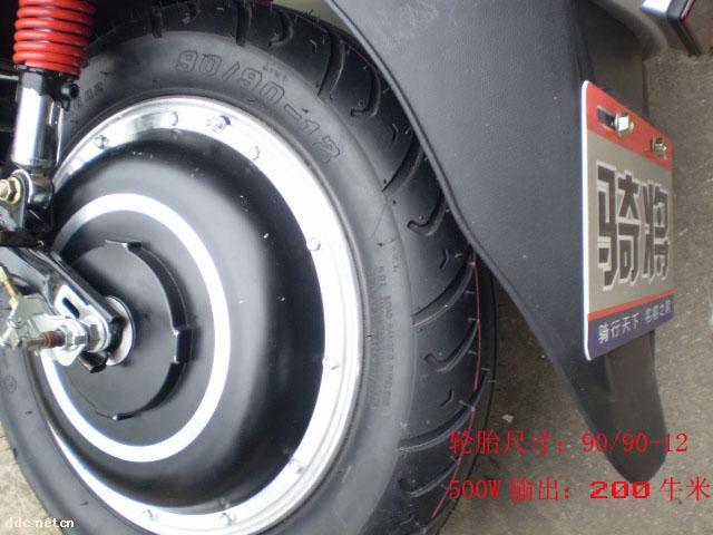 48伏20安电机350w的电动车能跑50~70公里!