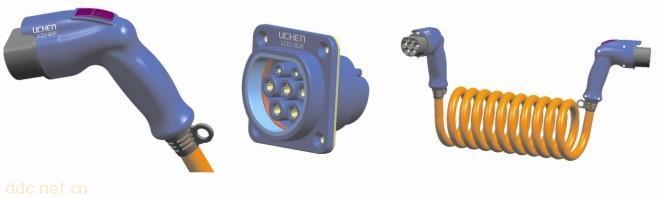 电动汽车充电连接器; 苏州润邦电气有限公司 供应电动汽车充电插头