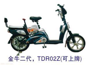 爱伦金牛二代简易款电动自行车
