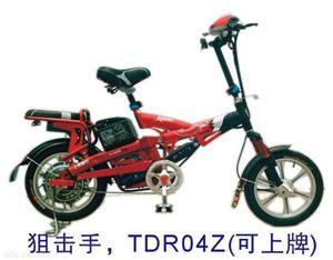 上海爱伦狙击手简易电动自行车