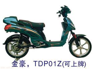 上海爱伦350W金豪电动自行车
