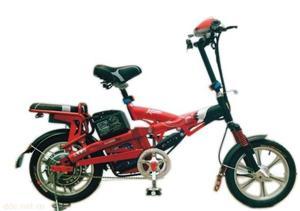 上海爱伦简易14寸狙击手电动自行车