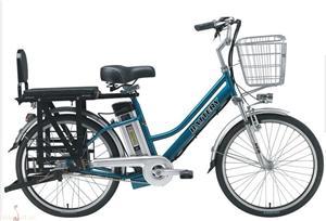 巨高简易款锂电动自行车
