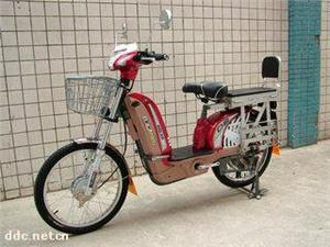 巨高22寸百灵四代碟刹电动自行车
