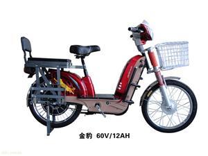 巨高金豹-60V12AH电动自行车