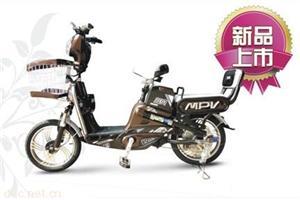 蓝贝250WMPV简易电动自行车