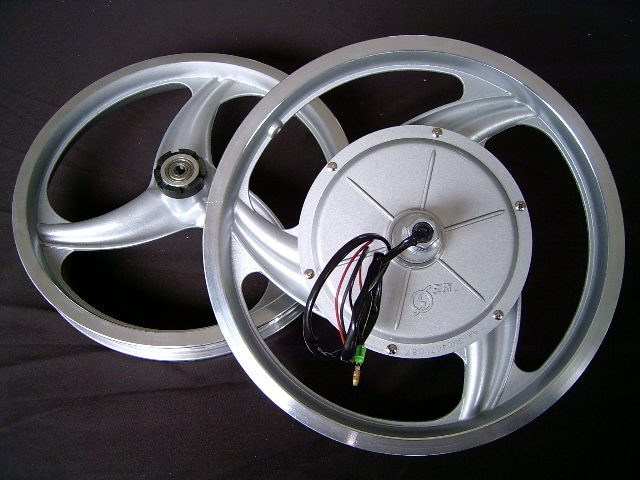 220w一体轮有刷电动车电机