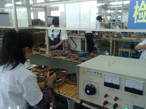 电动车电机焊接生产线