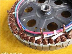 电动车电机焊接实物2