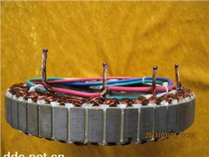电动车电机焊接实物3