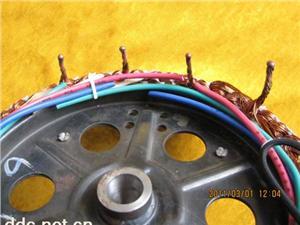 电动车电机焊接实物4