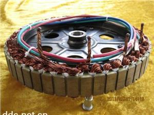 电动车电机焊接实物7