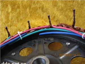 电动车电机焊接实物8