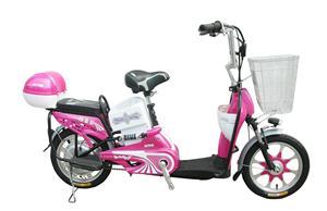 雅哥弟简易款女士电动自行车