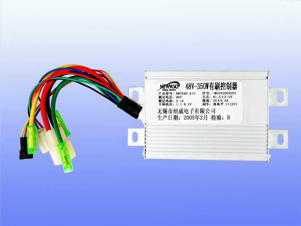 48v-350wa有刷控制器,电动车控