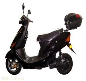 绿亮1500W黑色小光阳电动摩托车