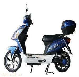 绿亮简易款载人江南时代电动自行车TDR183Z