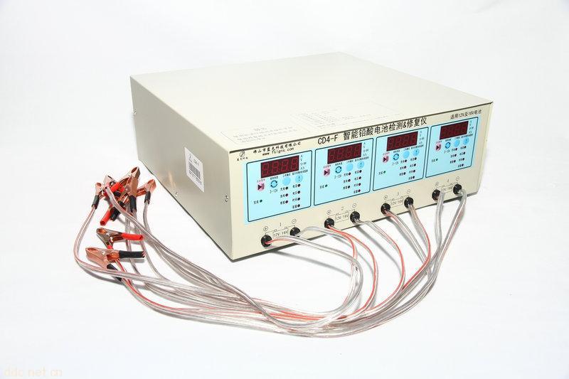 四路正负脉冲电动车电池修复仪cd4-f