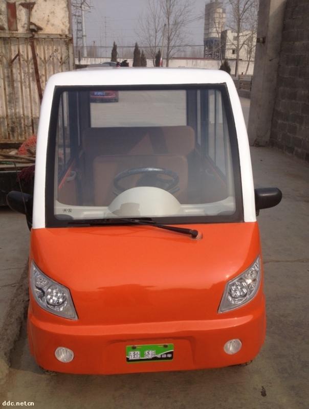 铁壳微型四轮电动汽车,老年代步车 徐州超华机 高清图片