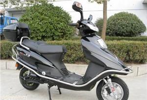 江苏苏爵五羊100电动摩托车