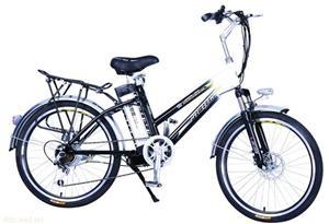 梅花双斜铝合金锂电池电动车