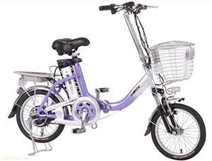 永昌16寸铁质锂电池电动自行车
