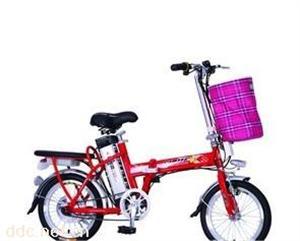 斯彼特180W16寸镁合金锂电池电动自行车