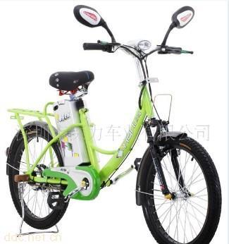 韩铃36v郁金香简易电动自行车