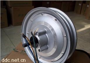 赛能48v72v10寸电动摩托车电机