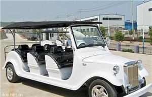 珠海大丰和白色8座电动观光车