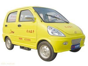 山东昊迪小王子黄色款时尚电动汽车