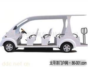 广东赛朗12座电动观光车