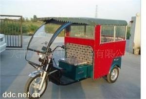 天津半封闭式载客电动三轮车