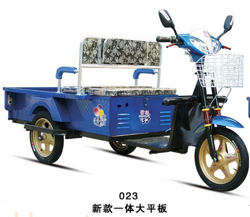 常州明宇新款大平板电动三轮车